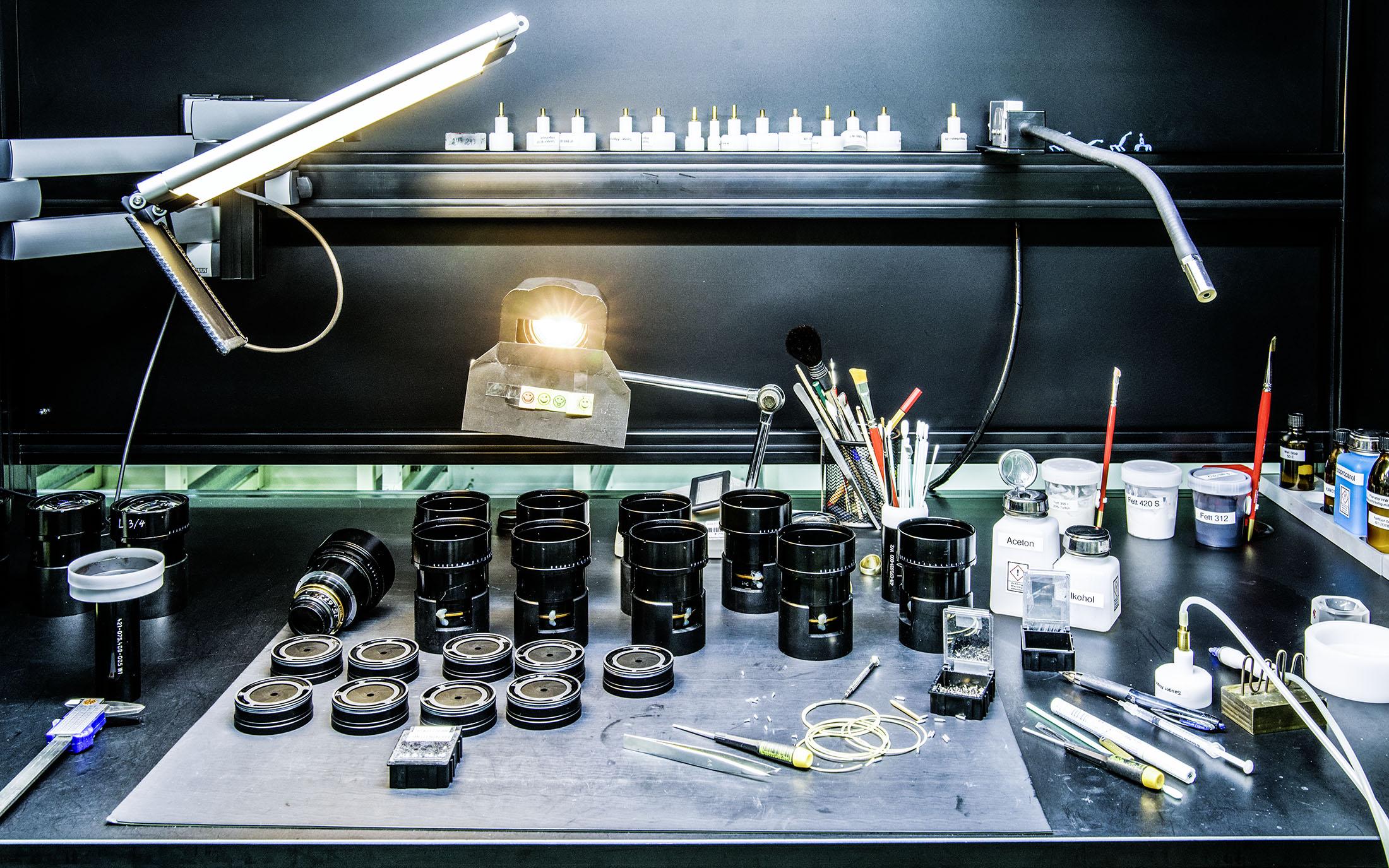 lens assembling