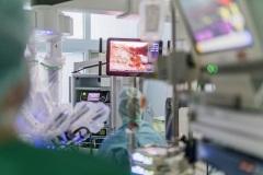 da Vinci Roboter OP durch Dr. Engel