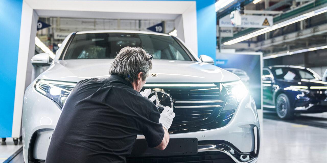 Mercedes für Bloomberg News