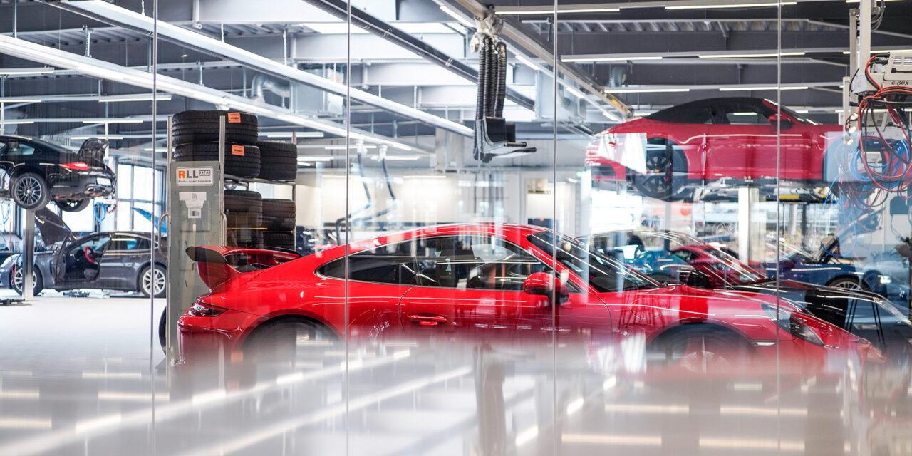 Porsche für Bloomberg News